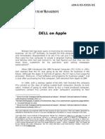Dell on Apple