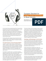 European Standard for Contact Center Performance to Boost Industry