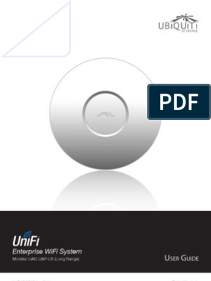 UniFi AP AP-LR User Guide | Wireless Access Point | Wireless Lan