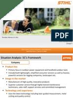 SDM Case Analysis Stihl Incorporated
