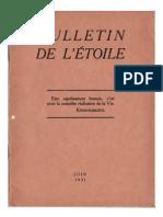 Bulletin de L'Étoile N°9 Juin 1931 par J. Krishnamurti