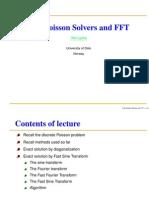 Fastpoissonslides Using FFT