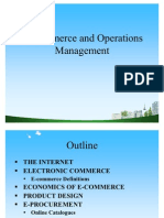 E-Commerce and Operations Management Ppt @ BEC DOMS