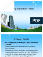 Estimating Population Values PPT @ BEC DOMS