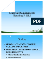 Material Requirements Planning & ERP PPT @ BEC DOMS