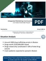 IMC Case Analysis Boston Fights Drugs (a)
