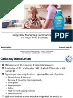 IMC Case Analysis Procter & Gamble(B)