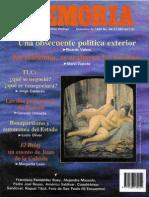Memoria, nº 049, diciembre 1992