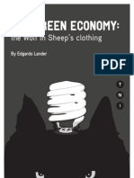 The Green Economy-The Wolf in Sheep's Clothing(Lander)-TNI Nov 2011