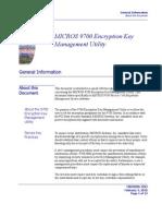 9700 Key Manager Application Manual