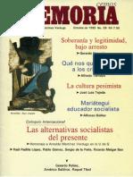 Memoria, nº 059, octubre 1993