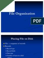 File Organisation&Hasing