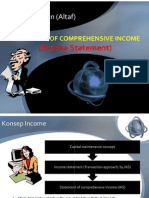 Statement of Comprehensive Income (Income Statement)