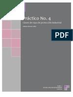 Práctico 4 - CLASES DE ROPA DE PROTECCIÓN INDUSTRIAL