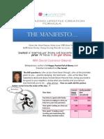 Amazing Lifestyle Creation Formula Manifest
