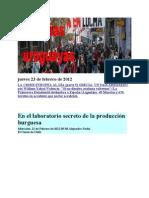 Noticias Uruguayas Jueves 23 de Febrero de 2012