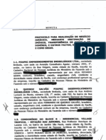Instituto Vila Jardim - Protocolo de Negociação de Terrenos
