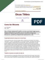 Dicas Tilibra
