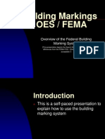 FEMA Building Marking System