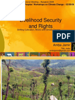 Shifting Cultivation_Livelihood Security and Rights