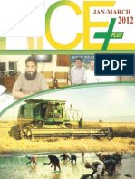 Rice Plus Magazine January,March 2012 5th Issue,Lahore,Pakistan