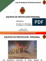 Equipos de Protección Personal, EPI de Bombero