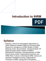 IHRM -Module 1