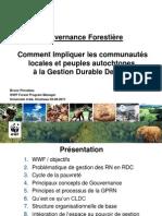 WWF-Gouvernance forestière en RD Congo