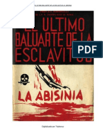 El último baluarte de la esclavitud La Abisinia