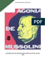 La agonía de Mussolini. Giovanni Dolfin