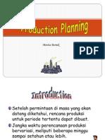 3 Rencana Produksi Untuk Memenuhi Suatu Tingkat an