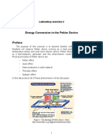 Instruction Peltier