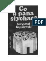 Kąkolewski Krzysztof - Co u pana słychać