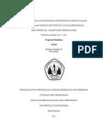Maulana Iskandar f38108065 Survei Sarana Dan Prasarana Pendidikan Jasmani Dalam Pelaksanaan Kurikum Tingkat Stuan Pendidikan