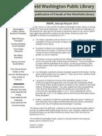 February 2012 Newsletter & Annual Report