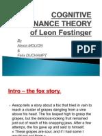 Cognitive Dissonance Theory of Leon Festinger