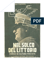 Nel Solco Del Littorio 1928. Corso di cultura fascista (Italiano)