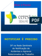 Notificar é preciso