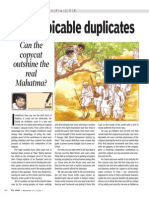 Of Despicable Duplicates- Can the Can Copycat Outshine the Real Mahatma