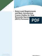 ROV Training Course