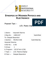 Synopsis of Modren Physics and Electronics