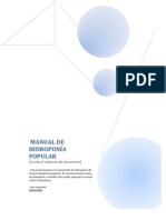 MANUAL DE HIDROPONÍA POPULAR