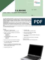 Amilo 3438G Factsheet