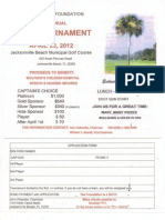 Application Form Scottish Rite Golf Tournament 23 Apr 2012