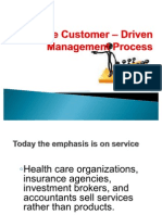 The Customer – Driven Management Process -MM 112 HAGONOS