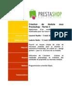 Creation de Module Pre Stash Op - Partie II - 120808