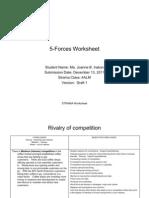 02. 5-Forces Worksheet