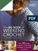 crochet - the big book of weekend crochet