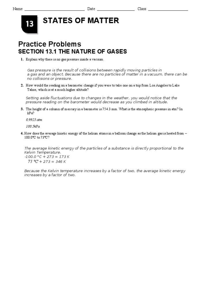 chapter 13 1 nature of gases. Black Bedroom Furniture Sets. Home Design Ideas
