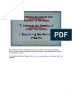 Improving the Revision Process 2